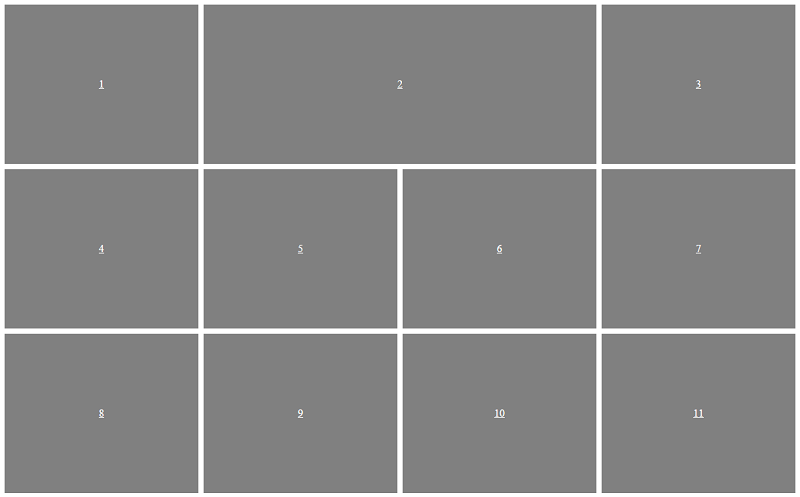 Responsive Patterns - 4-Up Grid Block - Wide